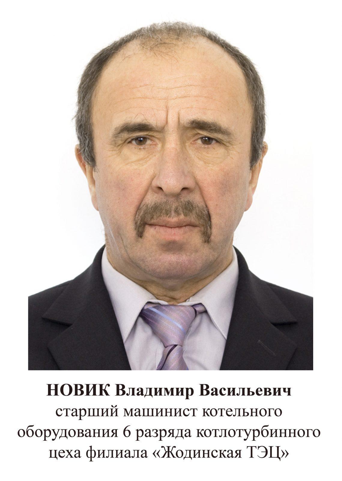 Новик Владимир Васильевич
